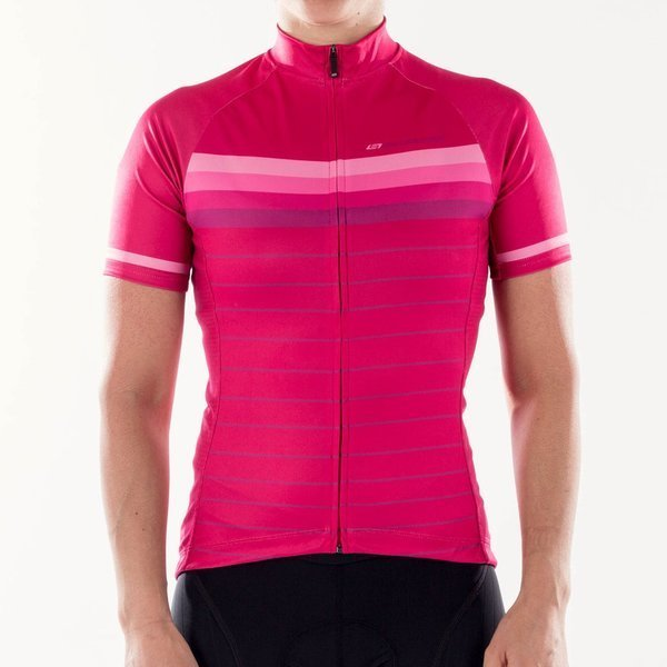Bellwether Women's Galaxy Striped Jersey Color: Berry