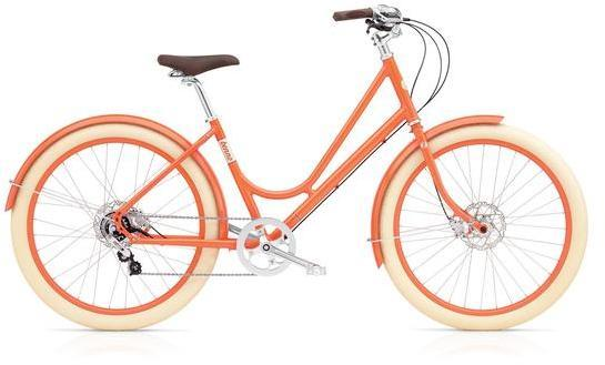 Benno Bikes Ballooner Ladies 8i Color: Persimmon Orange