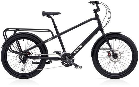 Benno Bikes Carry On 27D Color: Matte Black