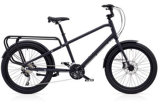 Benno Bikes Carry On 30D Color: Matte Anthracite Gray