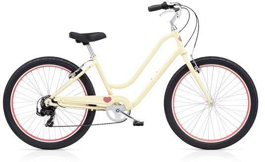 Benno Bikes Upright Ladies 7D Color: Navajo Cream
