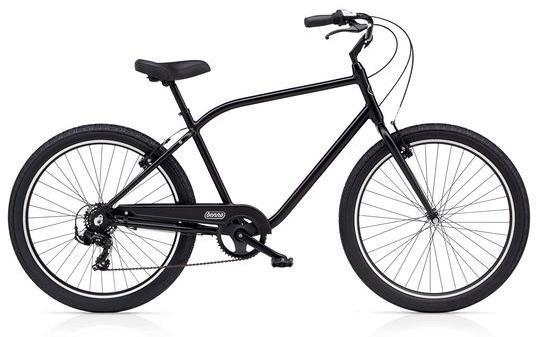 Benno Bikes Upright Mens 7D Color: Satin Black