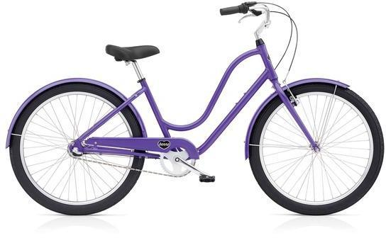 Benno Bikes Upright Ladies 3i Color: Lavender Purple