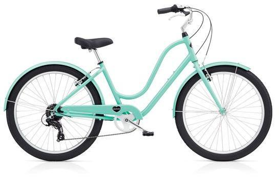 Benno Bikes Upright Ladies 8D Color: Mint Green