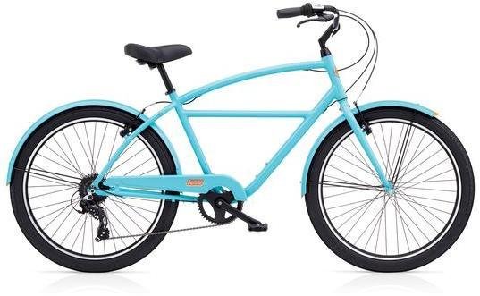 Benno Bikes Upright Mens 8D Color: Gulf Blue