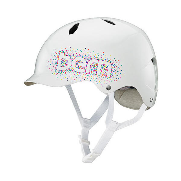 Bern Bandita Tween Color: Gloss White Confetti