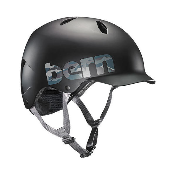 Bern Bandito Tween Color: Matte Black Camo