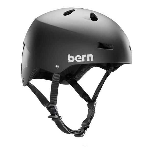 Bern Macon EPS w/MIPS Color: Matte Black MIPS