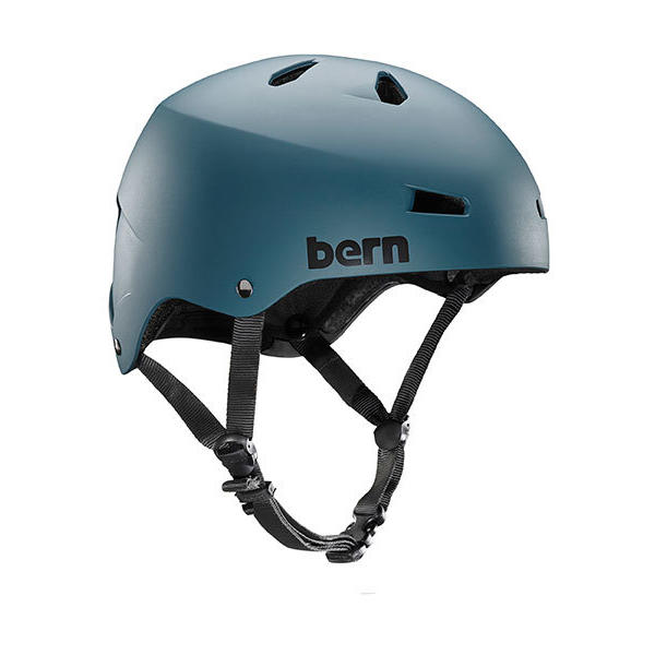 Bern Macon Team Color: Matte Muted Teal