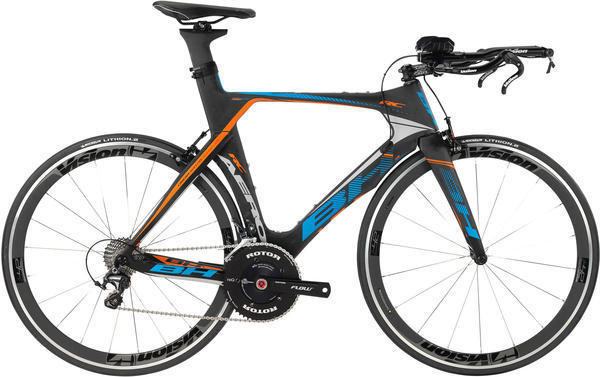 BH Bikes Aerolight RC Ultegra Di2 Color: Black/Blue/Orange