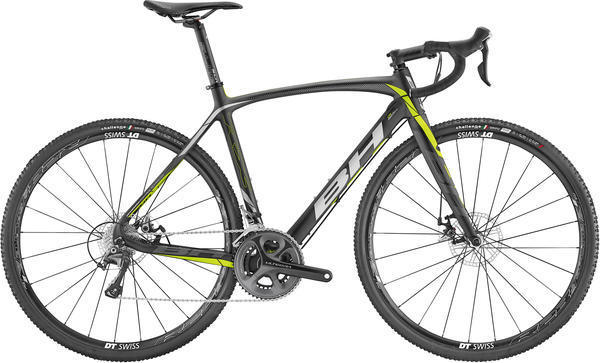 BH Bikes RX Team Ultegra Color: Black/Yellow