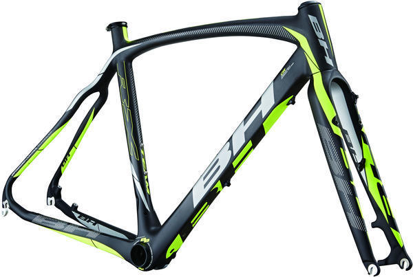 BH Bikes RX Team Frameset Color: Black/Yellow