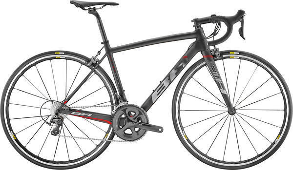 BH Bikes Ultralight (Ultegra) Color: Black/Red/Grey