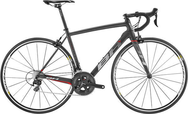BH Bikes Ultralight 105 Color: Black/Red/Grey