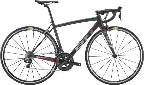 BH Bikes Ultralight Ultegra Di2 Color: Black/Red/Grey