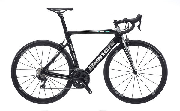 Bianchi Aria 105 Color: Black/Silver Gloss