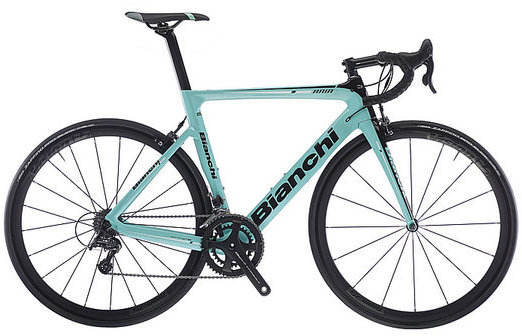 Bianchi Aria Centaur Color: Celeste/Black Gloss