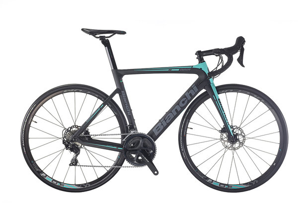 Bianchi Aria Disc 105 Color: Black/CK16 Matte