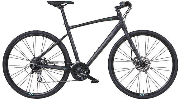 Bianchi C-Sport 1 Color: Black/Grey Matte