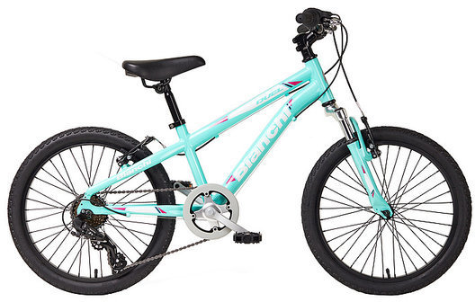 "Bianchi Duel 20"" Girls Color: Celeste"