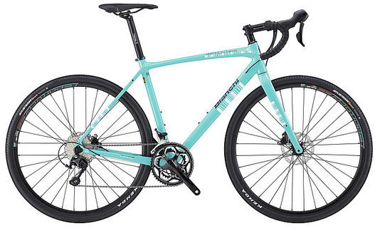 Bianchi Impulso All Road 105 Color: Celeste/Black Gloss