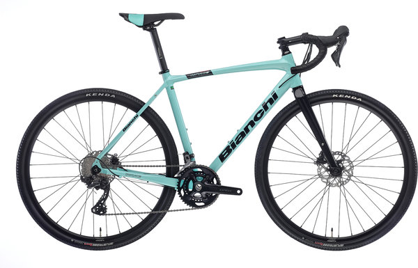 Bianchi Impulso Allroad GRX600 Color: Celeste/Gloss Black