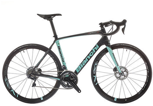 Bianchi Infinito CV Disc Frameset Image differs from actual product. Complete bike shown.
