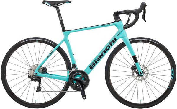 Bianchi Infinito XE 105 Color: Celeste/Gloss Black
