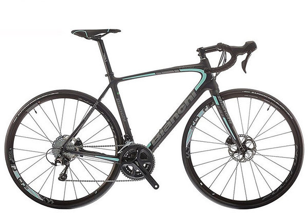 Bianchi Intenso Disc Ultegra Color: Black Matte