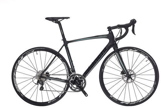 Bianchi Intenso Ultegra Mix Hydraulic Disc DT Swiss Color: Black Matte/Black Gloss