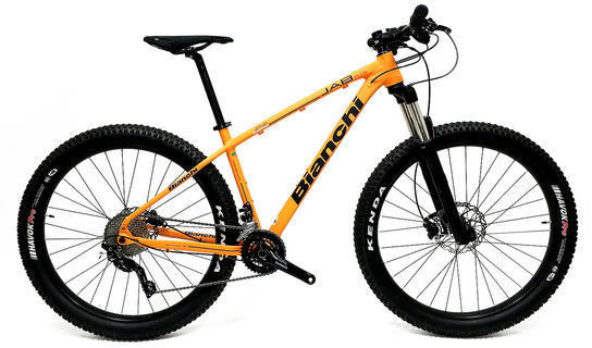Bianchi Jab 27.2 Plus Color: Orange Matte