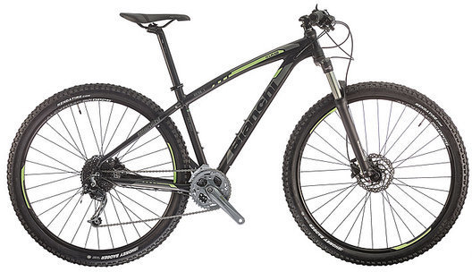 Bianchi Kuma 29.1 Color: Black/Acid Green Matte