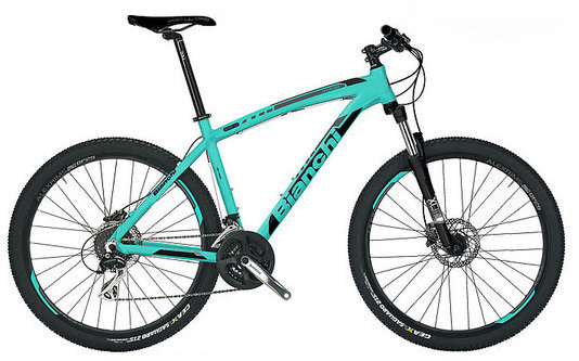 Bianchi Kuma 29.2 Color: Celeste/Black Gloss