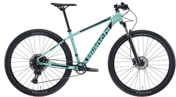 Bianchi Magma SX Eagle Color: Celeste/Black Gloss