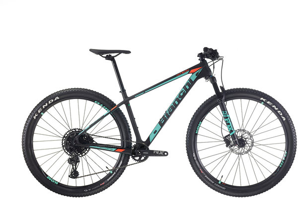 Bianchi Nitron 9.3 Color: Black/Celeste/Orange