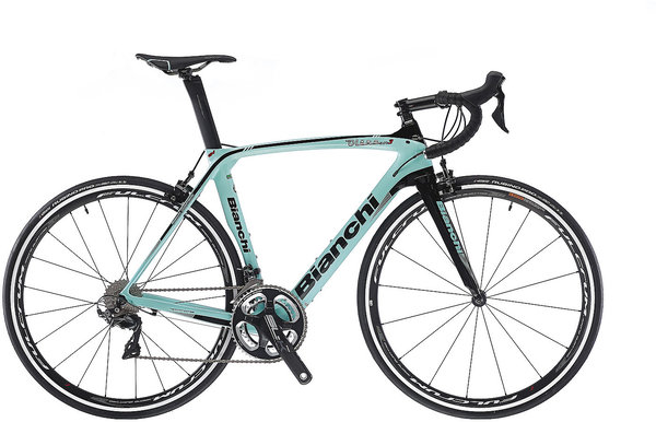 Bianchi Oltre XR3 Dura Ace Mix Color: CK16 Gloss