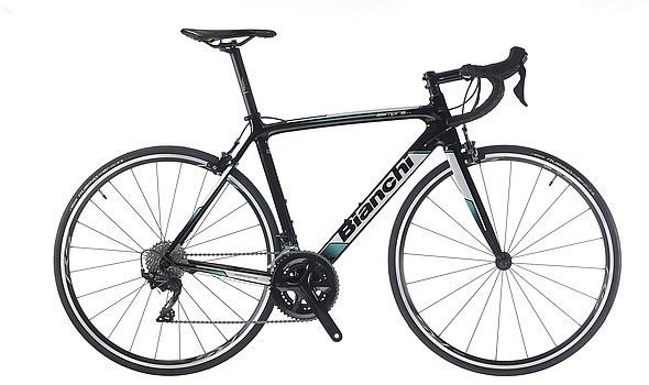 Bianchi Sempre Pro Color: Black/White Gloss