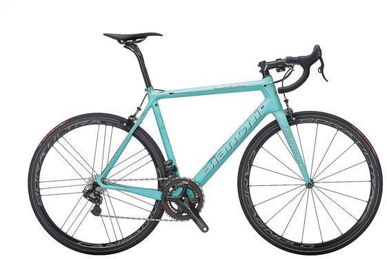 Bianchi Specialissima RED eTap Spec in image differs from actual product