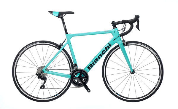 Bianchi Sprint 105 Color: Celeste/Gloss Black