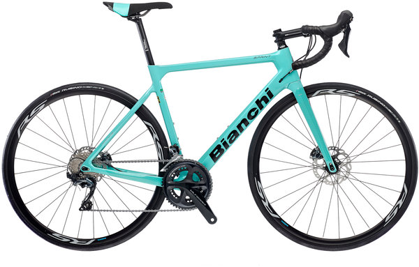 Bianchi Sprint Disc Ultegra Color: Celeste/Gloss Black