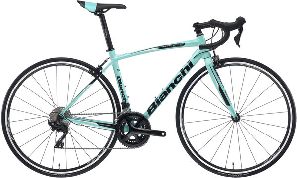 Bianchi Via Nirone 105 Color: Celeste/Gloss Black
