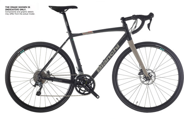 Bianchi Via Nirone 7 Allroad GRX400 Image differs from actual product (components vary)