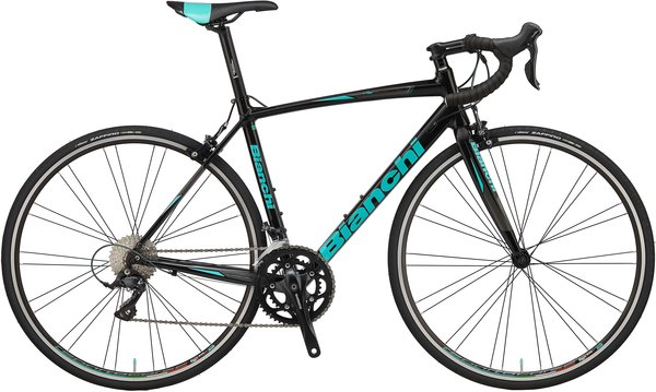 Bianchi Via Nirone Claris Color: Black/Gloss Celeste