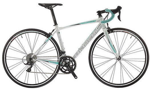Bianchi Via Nirone Dama Sora Color: Pearl White