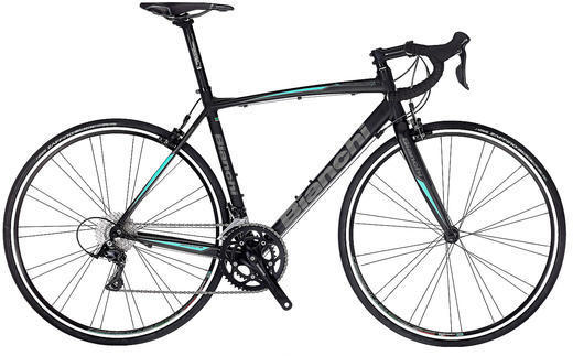 Bianchi Via Nirone Sora Color: Black Matte/Graphite Matte