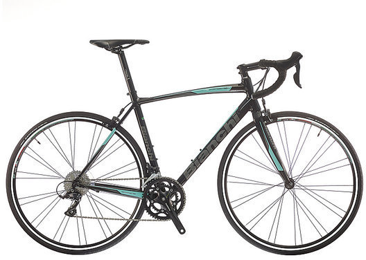 Bianchi Via Nirone Sora Color: Black/Celeste Gloss