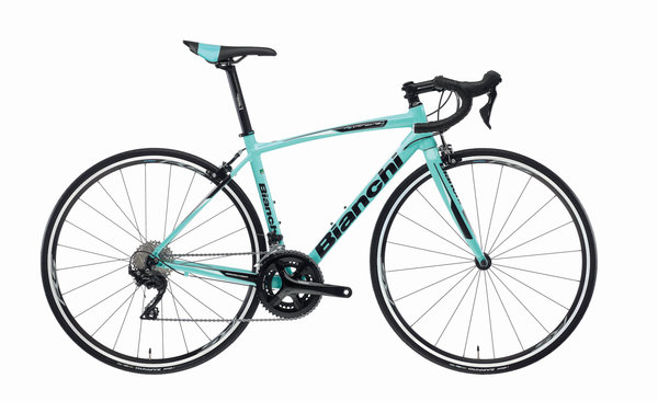 Bianchi Via Nirone Sora Color: Celeste/Gloss Black