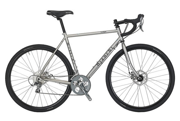 Bianchi Volpe Disc Color: Matte Nickel