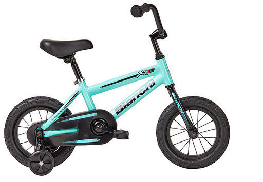 Bianchi XR12 Boys Color: Black/Celeste Matte