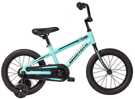 Bianchi XR16 Boys Color: Black/Celeste Matte